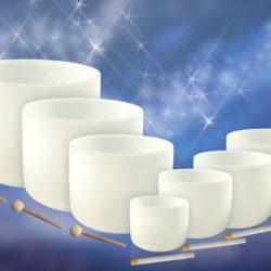 Kristallklangschalen-Set