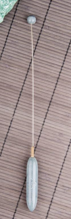 Tensor aus grauem Speckstein